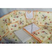 Детски комплект 6 части - за легло 60/120 см.
