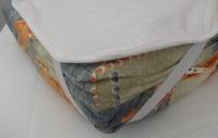 Протектор за матрак от хавлиен непромокаем плат, р-р 144/200см.