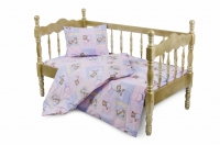 Комплект спално бельо ранфорс - детски, 3 части